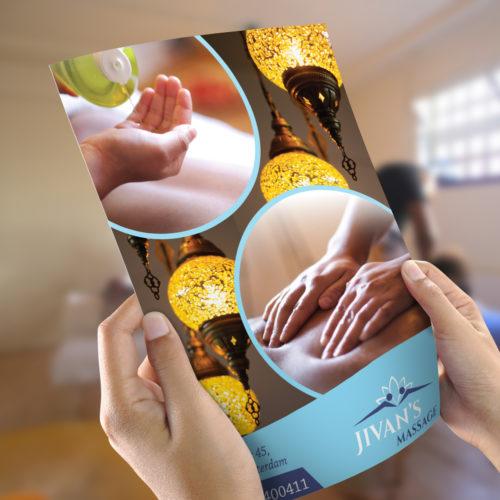 Jivans Massage Branding