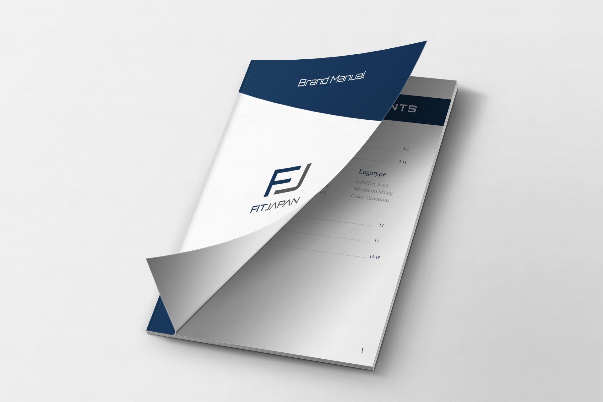 FitJapan - Brand Manual Design