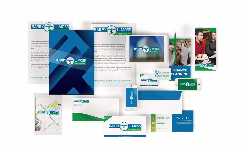 BLM - Logo and Brand Stationary Design